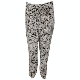 Hoss Intropia Geometric Printed Damen Trousers - Ivory