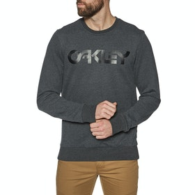 Sweat Oakley B1B Crew - Blackout Lt Htr