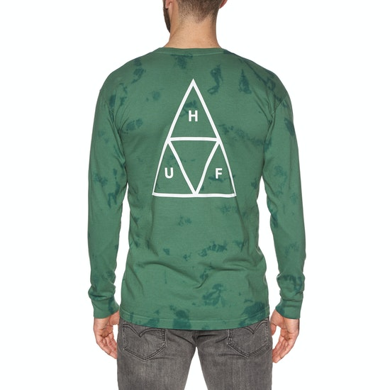 T-Shirt à Manche Longue Huf Triple Triangle Worldwide Tie Dye
