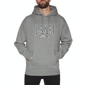 Lakai Varsity Pullover Hoody - Grey Heather