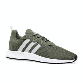 Adidas Originals X PLR 2 Shoes - White Green