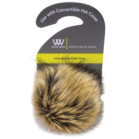 Toque Woof Wear Pom Pom for Convertible - Black Silver