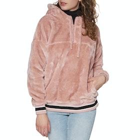 UGG Kailani Sherpa Pullover Hoody - Pink Crystal