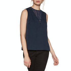Ted Baker Lulabel Dames Top - Dark Blue