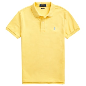 Polo Ralph Lauren Basic Mesh Slim Boy's Polo Shirt - Oasis Yellow