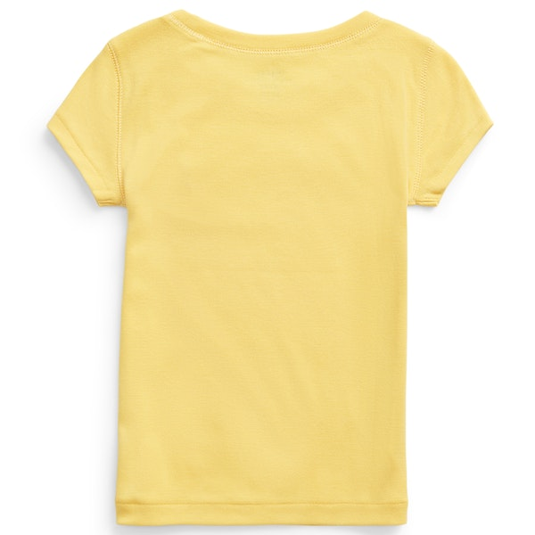 Ralph Lauren Crew Neck Knit Short Sleeve T-Shirt