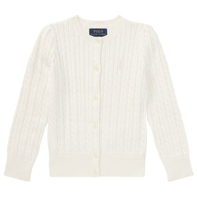 Polo Ralph Lauren Mini Cable Pullover - Hint Of Pink