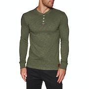 Superdry Legacy Grandad Long Sleeve T-Shirt