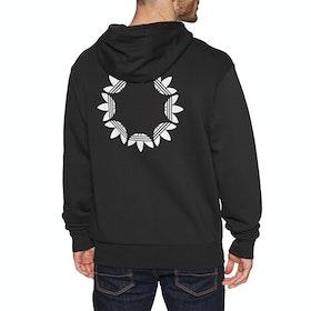 Adidas Pinwheel Pullover Hoody - Black Grey