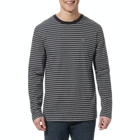 Vans Striped , Långärmad T-shirt - Black White