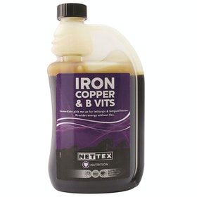 Net-Tex Iron Copper and B Vitamins Performance Supplement - Clear