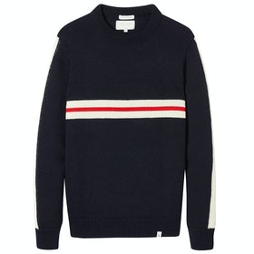 Peregrine Made In England Alpine Racing Sweater - Navy