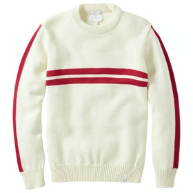Peregrine Made In England Alpine Racing Sweater - Ecru