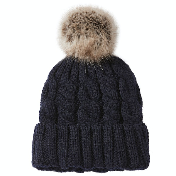 Peregrine Made In England Alpine Aran Beanie