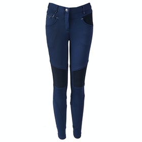 Horka Red Horse Nina Girls Riding Breeches - Dark Marine