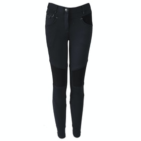 Horka Red Horse Nina Girls Riding Breeches - Jet Black
