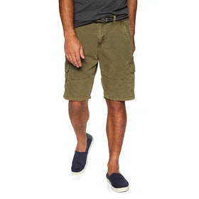 Protest Packwood Shorts - Camo Green
