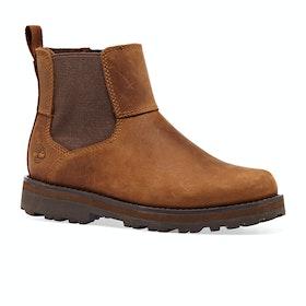 Timberland Courma Chelsea Kids Boots - Medium Brown Full Grain