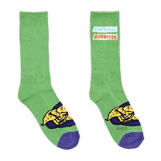RVCA Hot Fudge Crew Fashion Socks
