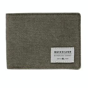 Portafoglio Quiksilver Slim Vintage - Burnt Olive