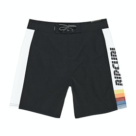 Rip Curl Big Mama S/E Boys Boardshorts - Black