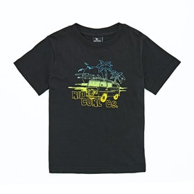 Rip Curl Coche Groms Short Sleeve T-Shirt - Black