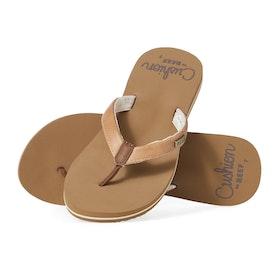 Reef Cushion Sands Womens Sandals - Natural