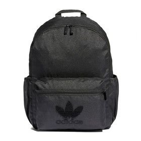 Adidas Originals Classic Premium Logo Backpack - Black