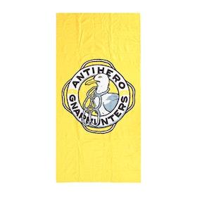 Beach Towel Anti Hero x Gnarhunters - Yellow