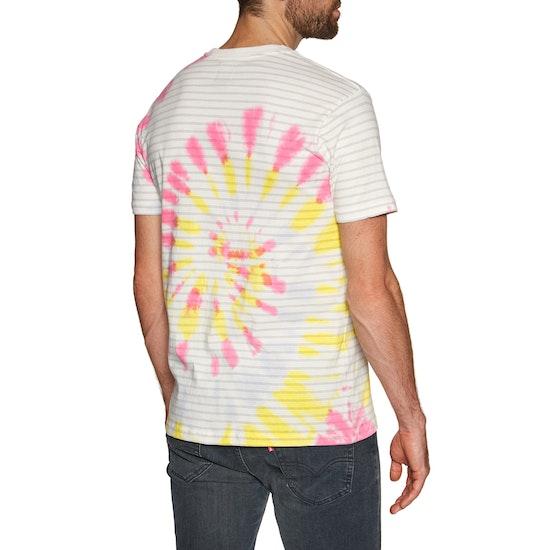 RVCA PTC Stripe Short Sleeve T-Shirt
