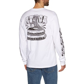 RVCA Snake Long Sleeve T-Shirt - White