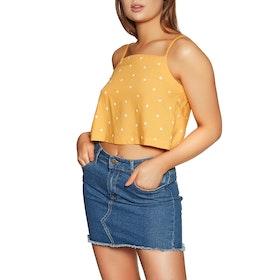 RVCA Logan Womens Camisole Vest - Amber