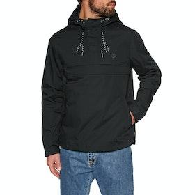 Element Barrow Light Waterproof Jacket - Flint Black