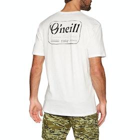 O'Neill Lm Cooler Short Sleeve T-Shirt - Powder White