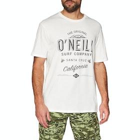 O'Neill Lm Muir Short Sleeve T-Shirt - Powder White