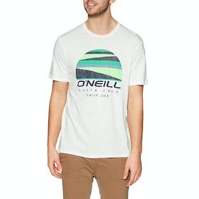 O'Neill Sunset Logo Short Sleeve T-Shirt - Powder White