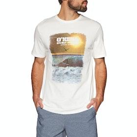 O'Neill Surf Gear Short Sleeve T-Shirt - Powder White