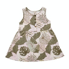 Rip Curl Mini Palm Cove Girls Dress - Lilac