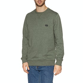 Sweat Billabong All Day Crew - Dark Military