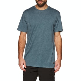 T-Shirt à Manche Courte Billabong All Day Crew - Dark Indigo