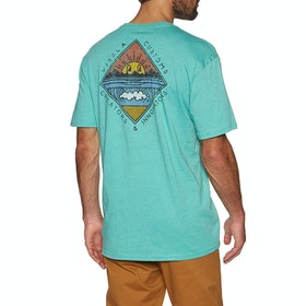 Vissla Warming Kurzarm-T-Shirt - Jade Heather