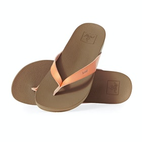 Reef Cushion Bounce Court Womens Sandals - Cantaloupe