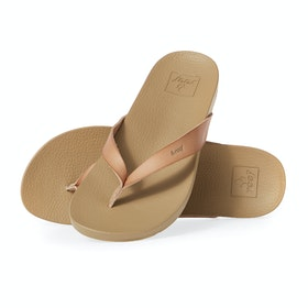 Reef Cushion Bounce Court Womens Sandals - Natural