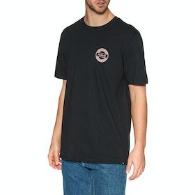 Hurley Core Waxed Short Sleeve T-Shirt - Black