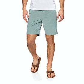 Animal Darwin Stripe Shorts - Lead Grey