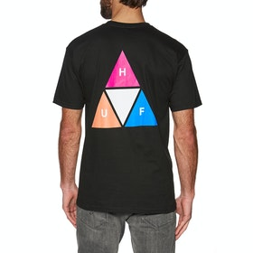 Huf Prism Triple Triangle Short Sleeve T-Shirt - Black