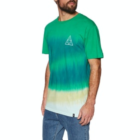 T-Shirt à Manche Courte Huf Sky Wash - Quetzal Green