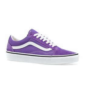 Vans Old Skool Shoes - Dewberry True White