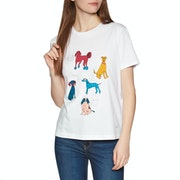 Paul Smith Dog Days Dame Kortærmede T-shirt