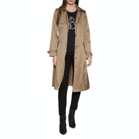 Lauren Ralph Lauren Sb Mx Trench Cotton Womens Bunda - Sand